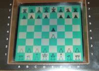 Display mit elektronischem Schachbrett