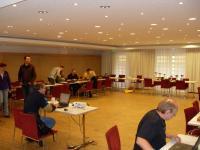 Blick in den Turniersaal: Kaufbeuren 2009