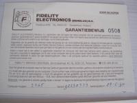 Fidelity Avant Garde 2265 Mach III 6114-2
